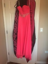 Clairisse Hot Pink Prom Dress size 3/4 **WORN ONCE**