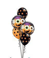Party Supplies Decorations Halloween Monster Boo! Foil Balloon Bouquet