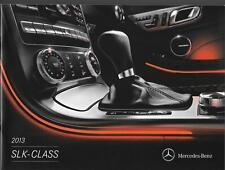 2013 13  Mercedes Benz SLK Class  Original  brochure