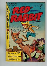 RED RABBIT COMICS #16 AND #17 1950'S GOLDEN AGE FUNNY ANIMAL COMICS