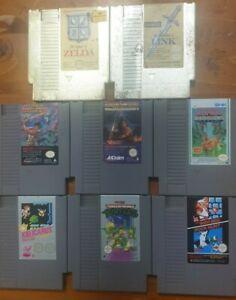 8 Game NES Lot / Bundle - Nintendo Entertainment System (NES PAL) - [Vintage]