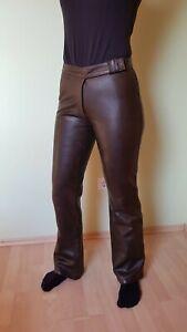 Echt Lederhose braun von Gipsy Damen Gr.L