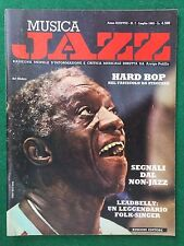 MUSICA JAZZ n.7 Luglio 1982 (ITA Rivista Magazine ART BLAKEY HARD BOP ALBERTAZZI