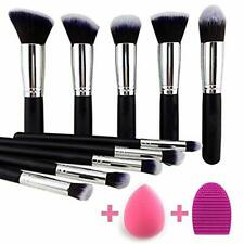 Kylie Makeup Brushes Set Synthetic Kabuki Foundation Face Powder Brush 10 Pcs