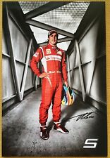 Fernando Alonso official Ferrari F1 issued card 19.5x13 cm new condition 3909/11