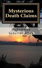 Mysterious Death Claims by Mohammed Khan (2016, Paperback)