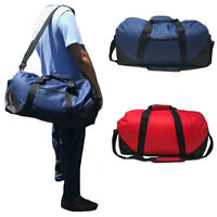 "Large 21"" Duffle Duffel Bags Two Tone Work Travel Sports Gym Carry-On Luggage"