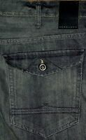 New Sean John Clayton Straight Leg Men's Blue Jeans Sz 34x32 36x32 42x32