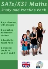 Key Stage 1 Maths SATs Exam Papers and Study Pack (CD Delivery)