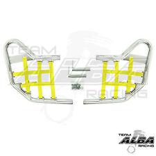 TRX 400EX 400X   Nerf Bars  Alba Racing       Silver Bars Yellow Nets  211 T1 SY