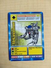 Mekanorimon MP-71 Rare French Digimon Card From Mega Pack
