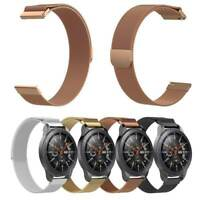 For Samsung Galaxy 42mm & Vivoactive 3 Milanese Magnetic Metal Wristband Straps