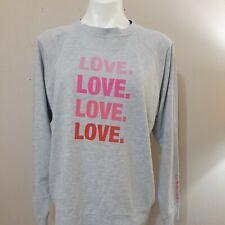 espwa. TheShopForward.com Women's Gray Long Sleeve LOVE Sweatshirt Size L