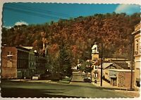 Berkeley Springs West Virginia Postcard Morgan County Courthouse Castle WV 522