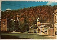 Berkeley Springs West Virginia Postcard Morgan County Courthouse Castle WV 522