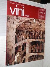 VINI Rossi Stefano Zaccone e Alberto Zaccone De Agostini 1976 libro cucina di