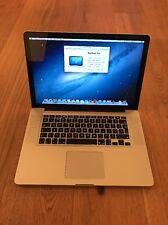 "Apple MacBook Pro 15"" 2011 2.2ghz i7 4gb Ram 750gb HD In Good Condition"