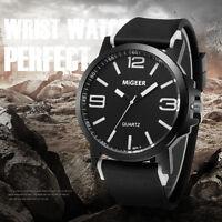 2018 Men's Watch Luxury Stainless Steel Quartz Analog Boy Sports Wrist Watch
