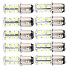 10x Super White T25/S25 1157 Bay15d 18-SMD 5050 LED Tail Brake Stop Light Bulb