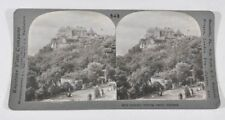 Historic Sterling Castle In Scotland Antique Keystone Stereoview