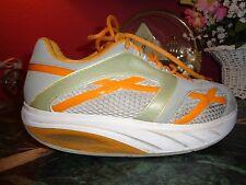 MBT physiological footwear swiss engineered 7M orange,gray,beige good condition