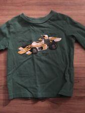 Baby Gap Boys Long Sleeve Shirt Size 12-18 Months Race Car