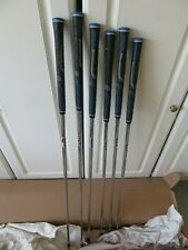 KBS Max Iron Shafts Feel GREAT + Accurate Ready To Install New Golfpride Grips !