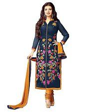 Fashion Duds Women's Faux Cotton Printed Unstitched Salwar Suit Dress Material