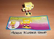 KINDER TR118 TR 118 BOB L'EPONGE SPONGEBOB + BPZ