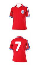 Inglaterra 1978 número 7 Keegan Retro Rojo Lejos Camiseta De Fútbol XXL