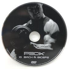 P90X Back & Biceps DVD W/ Bonus Ab Ripper Ships Fast!!!