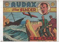 AUDAX première série n°61. L. NOEL.  Ed. Artima 1952. Format oblong