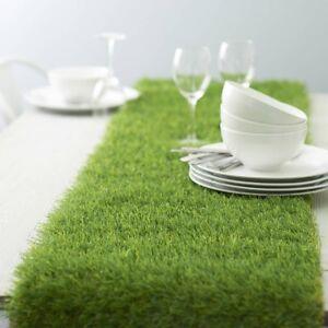 Mini Artificial Grass Table Runner - (100cm Long)