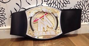 WWE WORLD HEAVYWEIGHT SPINNER LIGHT MUSIC Champion Belt Toy Musical Wrestling