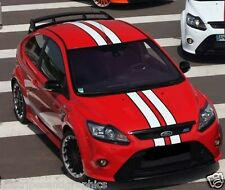 "Ford Focus 2 color 4"" Rally stripes Stripe Graphics RS ST Platnum 2012 2013 2014"