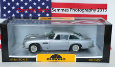1/18th Diecast Chrono BOND SILVER 1963 Aston Martin DB5 Brand New
