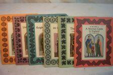 KNIGHTS SQUIRES LIVING NEAR LONDON ENGLISH INN CASTLE vintage children's books