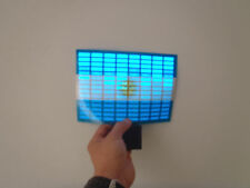 SOUND Activated ARGENTINA FLAG CAR WINDOW STICKER SIGN WITH LED Light FLASHING