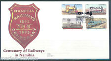 Namibia Trains First Day Cover
