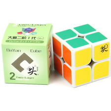 Dayan Zhanchi 2x2x2 Speed Cube Magic Puzzle White 50mm Anti-POP for Speedcubing
