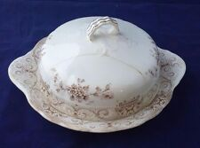Antique Henry Alcock & Co. England Elite Semi Porcelain lidded covered dish