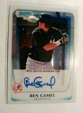 2011 Ben Gamel Bowman Chrome Prospect Auto NM-MT+  Brewers