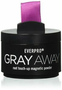 Everpro Gray Away Temporary Root Touch Up Magnetic Powder BLACK/DK BROWN**READ**