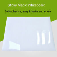 A5 A4 A3 A2 Sheets, Sticky Magic Whiteboard, Easy To Write And Erase UK NEW