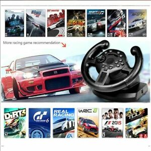 Racing Game Steering Wheel Pedal Compatible For PS3/PC Simulated Driving Control
