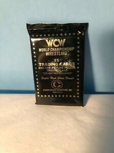 World Championship Wrestling 15 Trading Cards w/One Picture Puzzle 1991