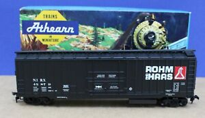 Athearn 5281 HO 50' PD Boxcar Rohm & Haas 42879 Built Boxed