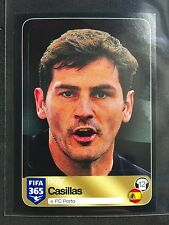 2016-17 Panini FIFA 365 Iker Casillas black sticker # 568