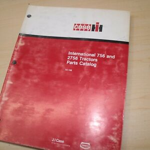 INTERNATIONAL CASE IH 756 2756 Tractor Parts Manual Book spare catalog list 1978