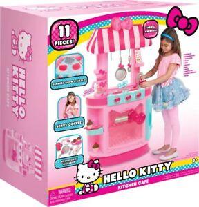 NEW Just Play Hello Kitty Kitchen Café Roleplay Disney Kitchen